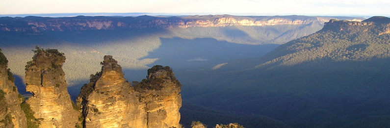 Blue Mountains Helicopter Flight