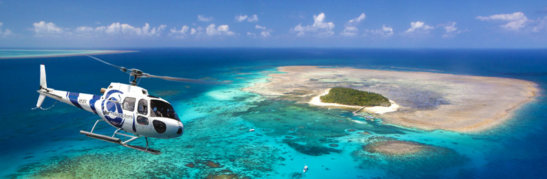 Great Barrier Reef Helicopter Flights