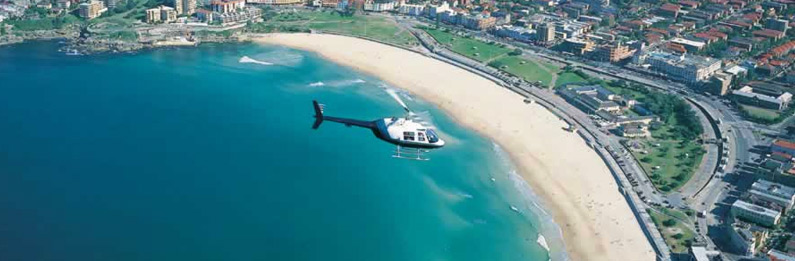 Sydney Coast Helicopter Flight