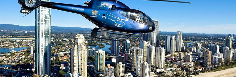 Brisbane to Surfers Paradise Helicopter Flight