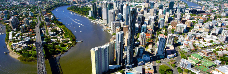 Brisbane CBD Helicopter Flight