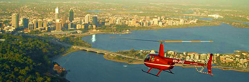 Perth Helicopter Flight for Two
